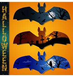Halloween labels vector