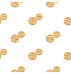 rotelle pasta icon in cartoon style isolated on vector image