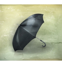 Umbrella old-style vector