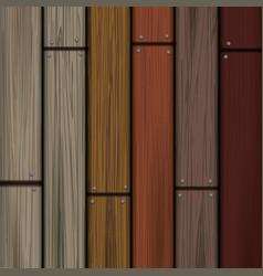 Wooden planks wallpaper vector