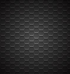 Abstract Dark Metal Background vector image vector image
