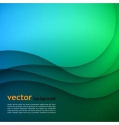 Blue elegant business background vector image