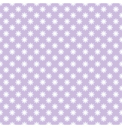 Seamless pattern with flowers in retro style vector image vector image