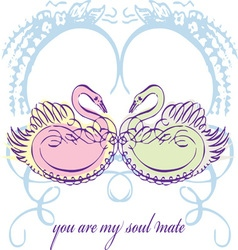 You Are My Soul Mate vector image