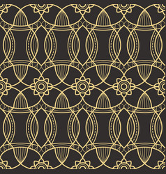 abstract art deco seamless pattern 04 vector image