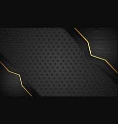 Background with bright flow lines effect vector