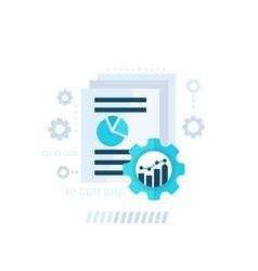 Data processing analytics vector