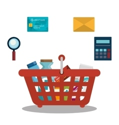 Digital marketing and ecommerce vector