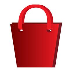 empty present bag vector image
