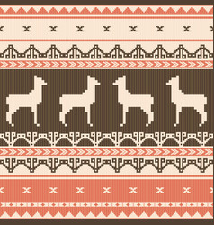 Folk ornamental pattern vector