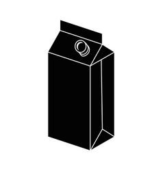 food box icon vector image