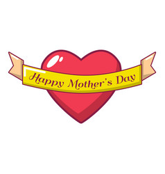 happy day icon cartoon style vector image