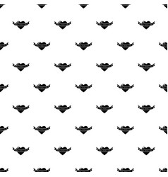 happy day pattern seamless vector image