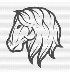 Horse symbol logo emblem vector