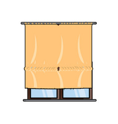 house windows design vector image
