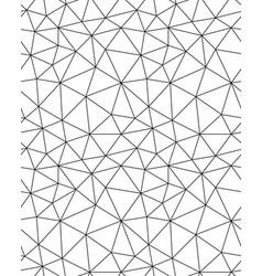 Polygonal pattern background vector