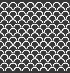 Seamless pattern scale or wave background vector