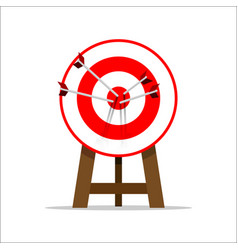 target goal vector image