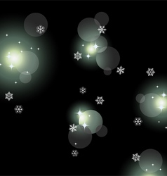 glittering lights background vector image vector image
