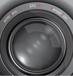 Camera photo lens vector image vector image