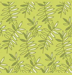 Abstract tropical leaves seamless pattern for vector