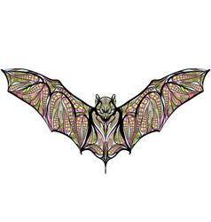Ethnic bat vector