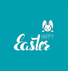 happy easter cards vector image