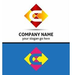 Letter c logo design sample vector