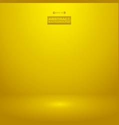 luxury gradient golden color background studio vector image