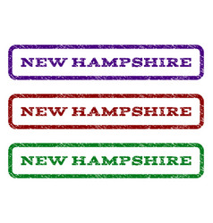 New hampshire watermark stamp vector
