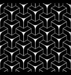 seamless isometric pattern vector image