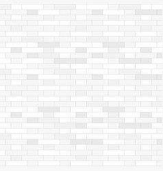 White brick wall background - vector