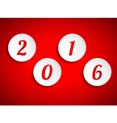 Happy new year 2015 design element vector image vector image