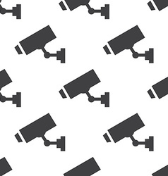 security camera seamless pattern vector image