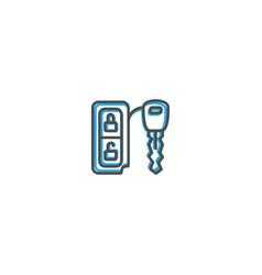 car key icon design transportation icon design vector image