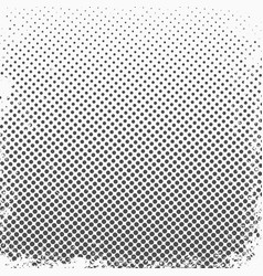halftone dots monochrome texture background vector image