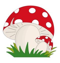 Mushroom vector image