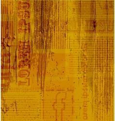 Old newspaper texture vector