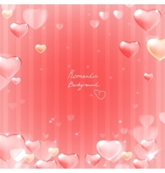 Ornate heart background vector