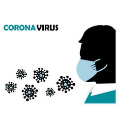 protection against viruses and bacteria vector image