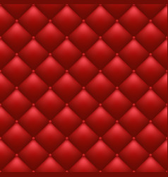 quilted red background vector image