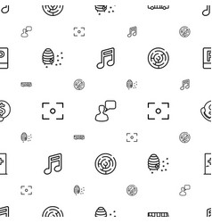 square icons pattern seamless white background vector image
