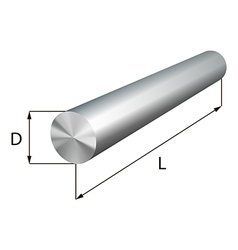 Steel round bars industrial metal object vector