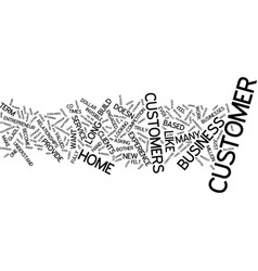 The invisible customer text background word cloud vector