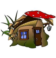 Elf House vector image