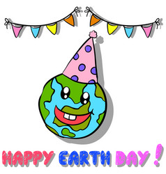 style earth day design collection vector image vector image