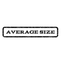 average size watermark stamp vector image vector image