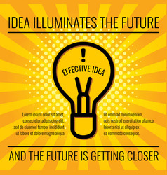 creative idea business concept background vector image vector image