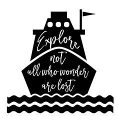 Inspirational optimistic quote vector