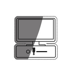 pc computer technology vector image
